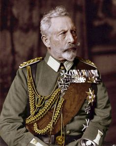 Wilhelm II (Friedrich Wilhelm Viktor Albrecht von Preußen); 27 January 1859 – 4 June 1941; last German Emperor (Kaiser) and King of Prussia.