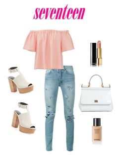 """""""23-05-2016"""" by ginahv on Polyvore featuring moda, Yves Saint Laurent, Rebecca Taylor, Rebecca Minkoff, Dolce&Gabbana y Chanel"""