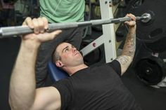 building muscles in the gym