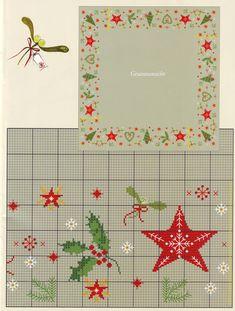 Cross Stitch Tree, Cross Stitch Heart, Cross Stitch Borders, Cross Stitching, Cross Stitch Embroidery, Cross Stitch Patterns, Christmas Border, Cross Stitch Christmas Ornaments, Christmas Tree Pattern