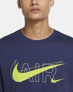 Nike Sportswear Men's T-Shirt. Nike AU Cool Shirt Designs, Short Outfits, Nike Sportswear, Nike Air, Boss, Shorts, Mens Tops, T Shirt, Fashion