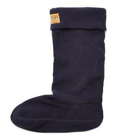 Look what I found on #zulily! Marine Navy Welly Sock - Women #zulilyfinds