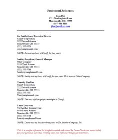 Great References For Resume Template Picture how to create a reference list sheet for job interviews References For Resume Template. Here is Great References For Resume Template Picture for you. √ How To Create A Reference List Sheet For Job Interview... Writing A Reference, Reference Page For Resume, Reference Format, Reference Letter, Resume Help, Resume Tips, Resume Examples, Free Resume, Sample Resume