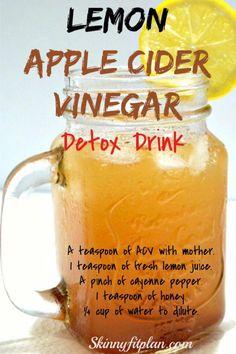 Splendid Apple Cider Vinegar Detox Drink Recipes for Weight Loss. Lemon apple cider Vinegar detox drink The post Apple Cider Vinegar Detox Drink Recipes for Weight Loss. Lemon apple cider Vinegar detox drink… appeared first on 2019 Recipes . Vinegar Detox Drink, Apple Cider Vinegar Detox, Apple Cider Vinegar Challenge, Apple Cider Vinegar Benefits, Weight Loss Meals, Weight Loss Drinks, Healthy Detox, Healthy Drinks, Healthy Water