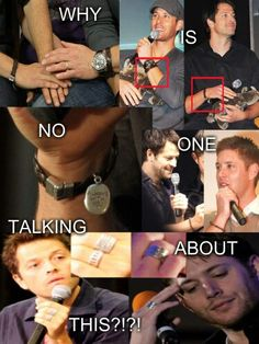 Ummmmmm... coincidence? I think not! WAIT JENSEN AND MISHA BOTH HAVE AN \'always with you\' BRACELET?!¿!!