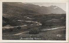 1930's Wyoming Postcard. Hagins collection.