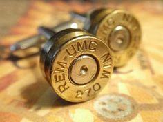 Bullet Shell Cufflinks-