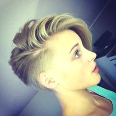 side cut hairstyles for short hair - http://www.gohairstyles.net/side-cut-hairstyles-for-short-hair-9/