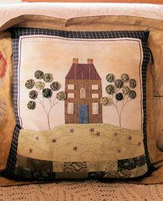 appliqued cushion pattern