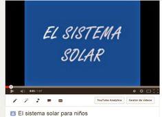 El sistema solar para niños - CUENTATUBE. Videoblog infantil