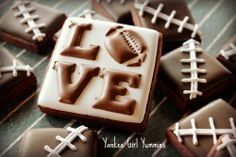 LOVE football Yankee Girl Yummies