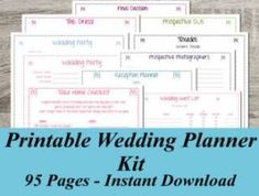 A Free Wedding Checklist Planner For Low Budget, Stress - Free Wedding Planning - Put the Ring on It Budget Wedding, Wedding Tips, Diy Wedding, Wedding Venues, Wedding Punch, Luxury Wedding, Wedding Speeches, Free Wedding, Wedding Attire