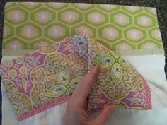 Double-sided burp cloth tute... the cutest yet!