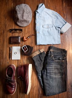 Men's outfit ideas.
