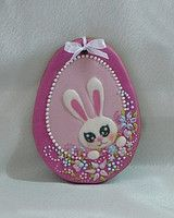 Bunny Egg Cookie~                                     By prom, #, pink, white