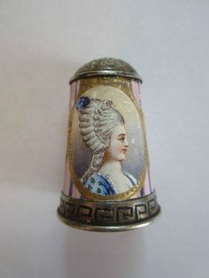 Antique Thimble Sevres Silver AND Enamel Miniature From Marie Antoinette 1880 | eBay Aug 26, 2013 / US $517.59 / 17,082.74 RUB