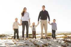 Coronado Beach Family Portrait Session :: Nelson Family | Taylor Abeel Photography | Southern California Weddings, Engagements and Portraits
