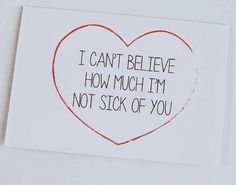 What Valentine's Day cards should really say | Notebook 54