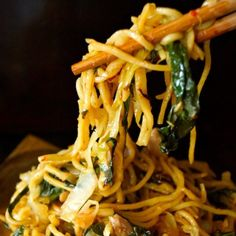 Chile Spiced Chinese Noodles - With a simple secret ingredient, these noodle are the most delicious comfort food of all time.