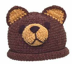 This chenille bear hat will have babies looking cute and staying warm this season! #QVCgifts