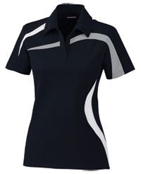 You can customize this Performance Polo Color-Block Polyester Pique Ladies at LogoSportswear.com