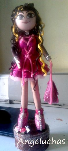 Fofuchas angeluchas: Muñecas fofuchas artesanales y personalizadas:  Linda.