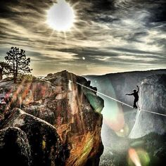 Jaw dropping. #slackline #adventure #yosemite #rei1440project