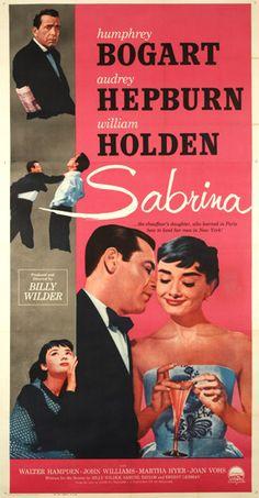 Sabrina (1954)   Humphrey Bogart, Audrey Hepburn, William Holden   Produced and directed by Billy Wilder