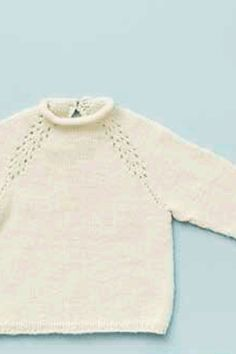 Strik en fin bluse til børnehaven Knitting For Kids, Baby Knitting Patterns, Chrochet, Knit Crochet, Crochet Pattern, Knitted Baby Clothes, Baby Sweaters, Kids Outfits, Kids Fashion