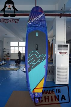 It is designed for the open ocean and flat water. The lower deck keeps you closer to the water for more stability. This is a perfect board for touring, exploring, downwind runs and some race. Custom versions available. Sup Paddle Board, Inflatable Paddle Board, Inflatable Sup, Lower Deck, Paddle Boarding, Days Out, Touring, Surfboard, Skiing
