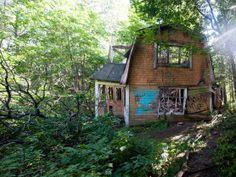 The forgotten village. Kruunuvuori,Helsinki - an abandoned village, perfect place for photography. wandering heart