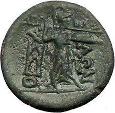 LARISSA in THESSALY for THESSALIAN LEAGUE 2CenBC Athena Apollo Greek Coin i55666 https://trustedmedievalcoins.wordpress.com/2016/05/24/larissa-in-thessaly-for-thessalian-league-2cenbc-athena-apollo-greek-coin-i55666/