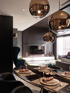 While tom dixon tabletop Top Interior Designers, Home Interior Design, Küchen Design, Farmhouse Design, Fine Furniture, Modern House Design, Best Interior, Living Room Decor, Sweet Home