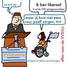 VVD onder-onder-ondersteunt eigen leden!
