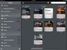 The Blogging App offering the best way to manage your blogs on the iPad, brought to you by Apple Design Award winning Pico, original creators of Versions app for the Mac.