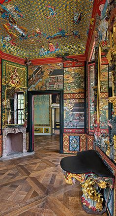 Japanese Cabinet at the Bayreuth Hermitage