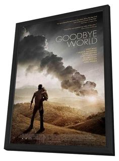 Goodbye World 11x17 Framed Movie Poster (2014)