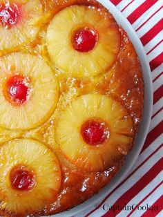 Jen's Recipes: Pineapple Upside-Down Cake (Betty Crocker) Easy Sweets, Sweets Recipes, Candy Recipes, Wine Recipes, Cooking Recipes, Greek Sweets, Greek Desserts, Party Desserts, Greek Recipes