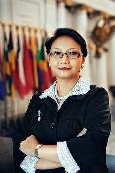Retno Lestari Priyansari Marsudi ❤ Power To The People, Role Models, Presidents, Models