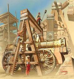 """""""Ottoman artillery, 1453"""", Christos Giannopoulos"""