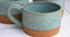 When it comes to handmade ceramic coffee mugs, you want to buy directly from the maker whenever possible. It's a special gift indeed when you select an original hand thrown pottery mug made by a true artisan. Here are our favorites, all available on Etsy!