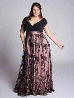 Empire dress in purple shades