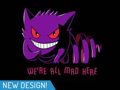 Gengar and the Cheshire Cat