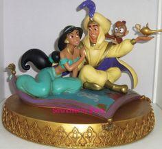 Art of Disney Jasmine Aladdin Magic Carpet Princess Figure Theme Parks