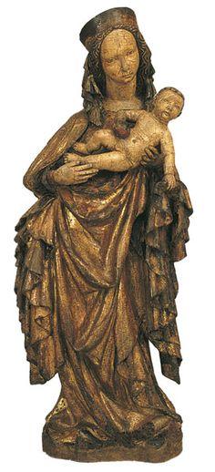 Mare de Déu, Bohèmia, ca. 1400, Museu Nacional d'Art de Catalunya, Barcelona  