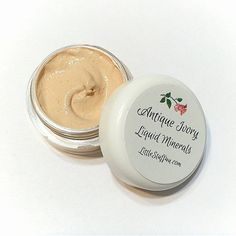 ANTIQUE IVORY Creamy Liquid Mineral Foundation by LittleStuff4u