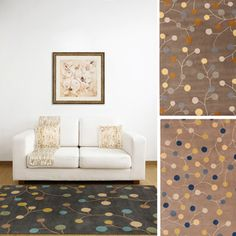 Hand-tufted Gum Drop Floral Wool Area Rug (9' x 12') | Overstock™ Shopping - Great Deals on 7x9 - 10x14 Rugs