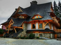 cob or hobbit homes | The Doll House, Carmel, California