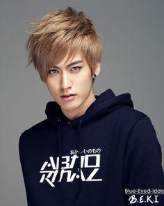 BLUE EYED K-POP IDOLS: #374  Ahn Jaehyo - Block B
