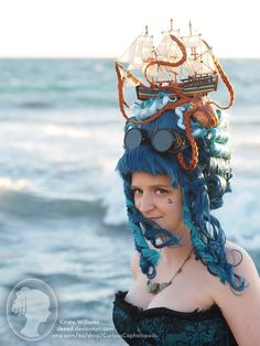 An Artist Creates Quirky Deep-Sea-Inspired Headpieces | VITAFUNNY